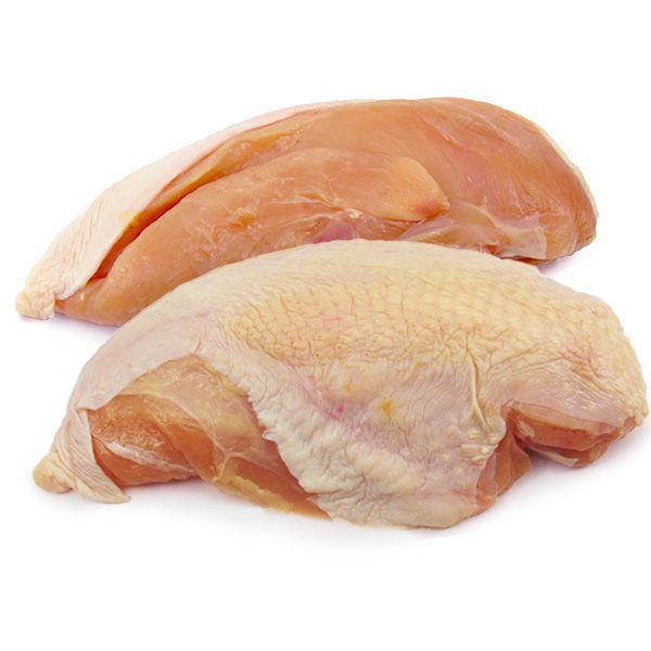 Boneless chicken breast with skin - photo#1